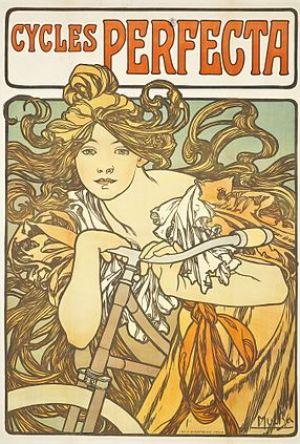 List of works by Alphonse Mucha
