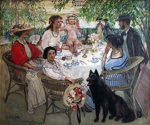 Auguste Oleffe - Lente