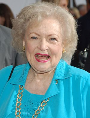 English: Betty White at the premiere for The P...