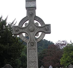 English: Irish Celtic Cross