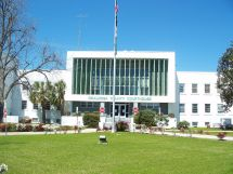 County Courthouse Crestview Florida