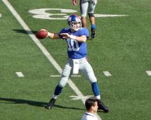 Giants Football Eli Manning