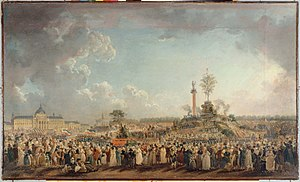 Festival of the Cult of the Supreme Being, 1794