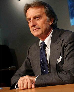 Ferrari chairman Luca di Montezemolo founded t...