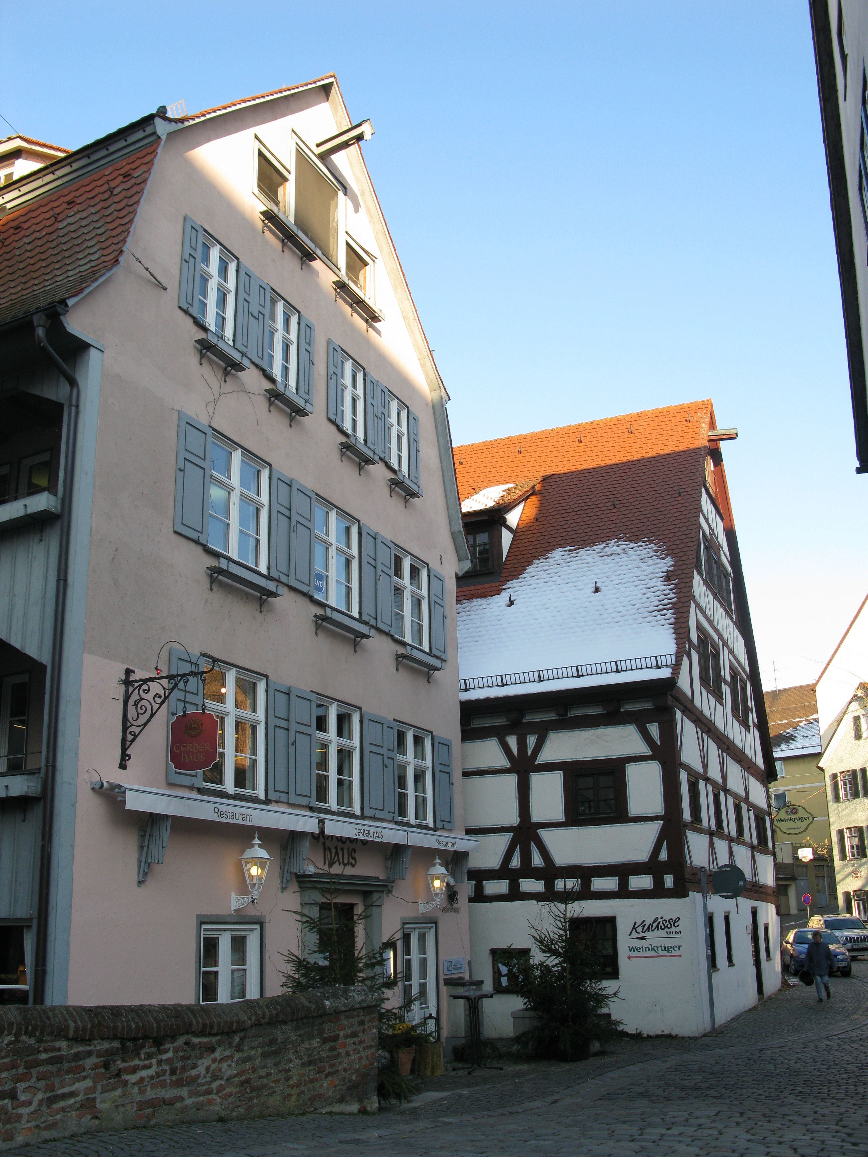 Filefischerviertel Weinhofberg Gerberhaus Ulmjpg