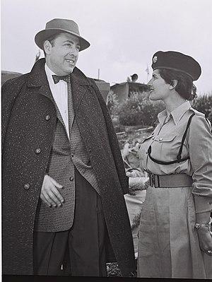 Herman Wouk in Jerusalem, 1955