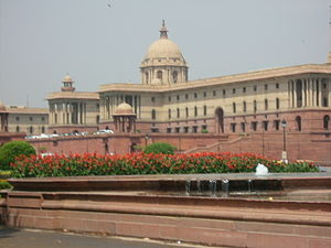 Indian Parliament Building Delhi India