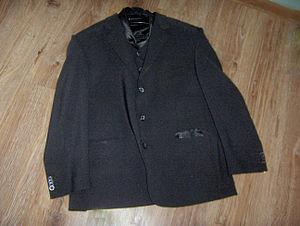 English: Photo of jacket Polski: Zdjęcie marynarki