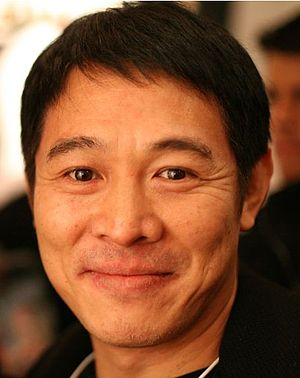 English: Jet Li in Davos, Switzerland, 2009