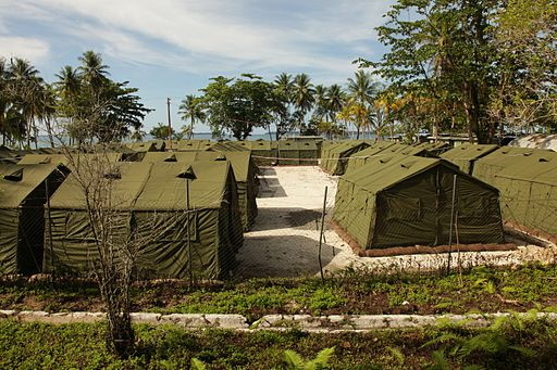 Manus Island regional processing facility 2012