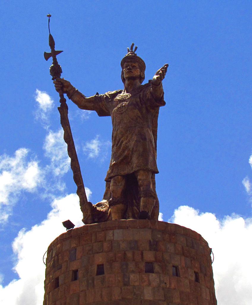 FilePachacuti statue Cuzcojpg  Wikimedia Commons