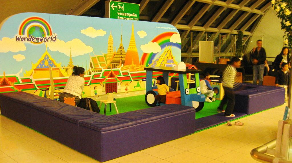 FilePlay Area at Suvarnabhumi Intl Airport Bangkokjpg