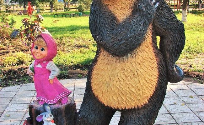 Masha And The Bear Wikipedia