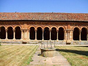 English: Claustro románico de la Concatedral d...