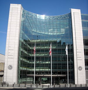 English: The U.S. Securities and Exchange Comm...
