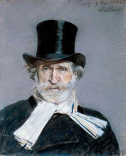 Ritratto di Giuseppe Verdi  Wikipedia