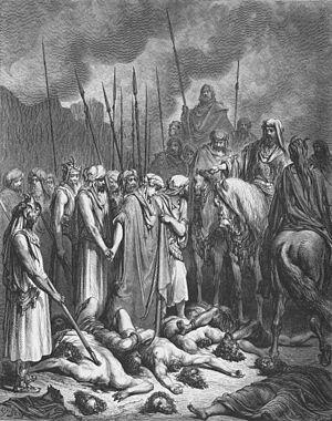 Joshua Spares Rahab (Josh. 6:20-24)