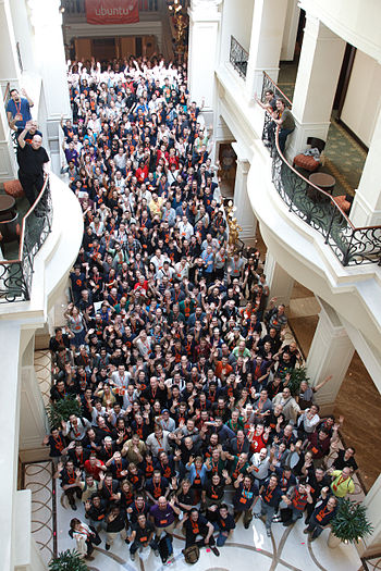 English: Picture from Ubuntu Developer Summit ...