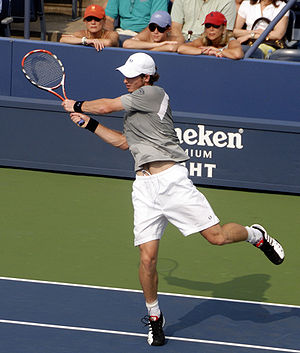 Andy Murray at the 2008 US Open