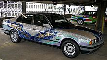 Art Car no. 9, 535i Matazo Kayama, 1990.jpg