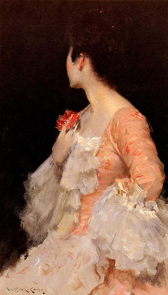 File:Chase William Merritt Portrait Of A Lady 1890.jpg