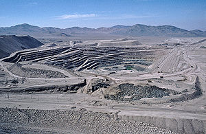 Coppermine Chuquicamata, Chile
