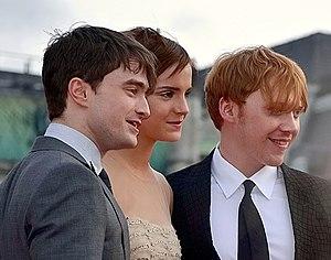 Daniel Radcliffe, Emma Watson & Rupert Grint (...
