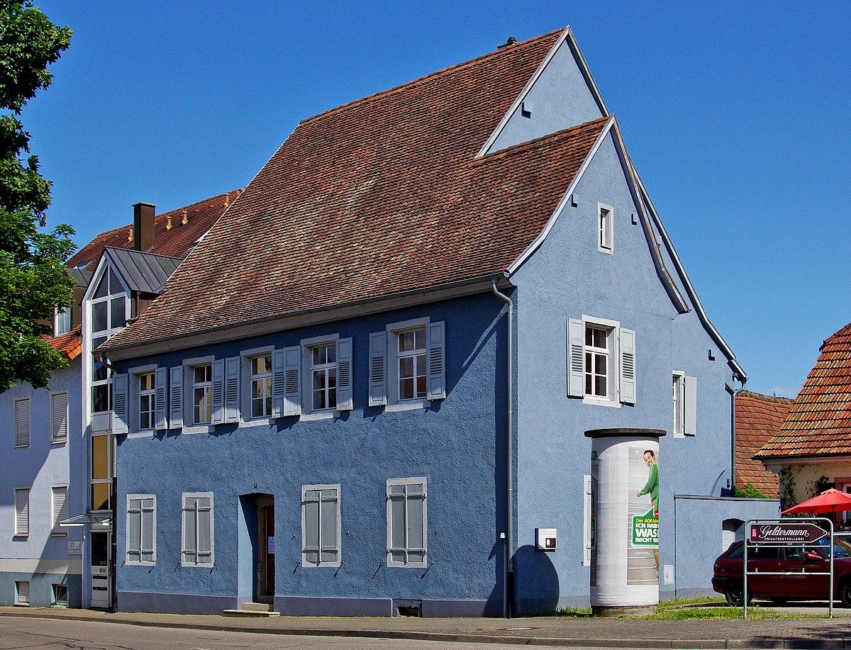 Blaues Haus Breisach  Wikipedia