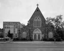 File East Front Facade - St. Luke' Episcopal Church