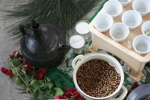 Ethiopian Coffee Ceremony 001