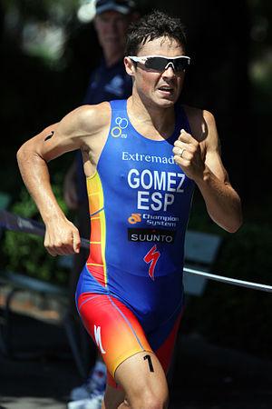 English: Francisco Javier Gómez at the Sprint ...