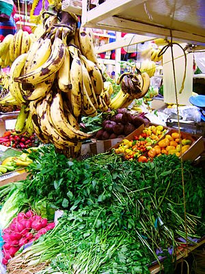 Fresh fruit and vegetable of Mexico in Mexico ...
