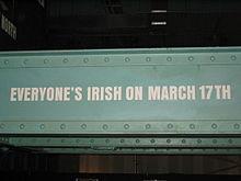 Ierse ieders op 17 maart