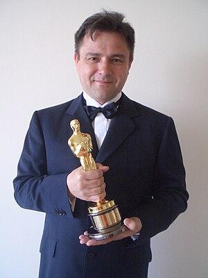 English: Horst Burbulla with Oscar