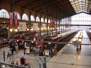 train station in Paris