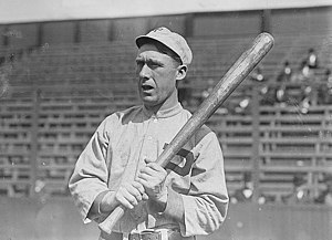 1911 photograph of John Titus, outfielder for ...