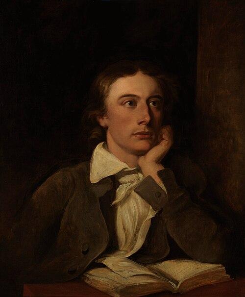John Keats by William Hilton