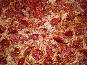 Kirkland Signature pepperoni pizza