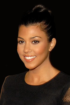 Kourtney Kardashian attending Maxim's 10th Ann...