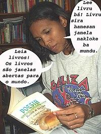 Membaca di Timor-Leste