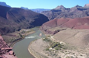 Overlook over the Colorado River in the Grand ...