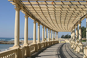 """Pérgola"" at Foz do Douro, Porto, Po..."
