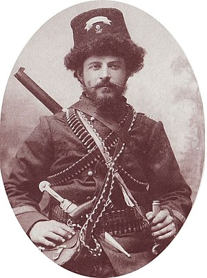English: IMARO leader Pito Guli from Krushevo.