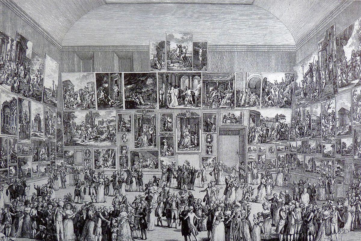 Salon de peinture et de sculpture  Wikipdia