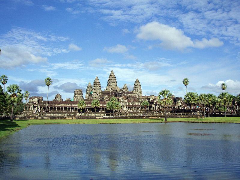Fichier:Templo de Angkor Wat en Camboya.JPG