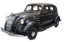 Reconstituire a Toyota Model AA, primul model produs de TMC