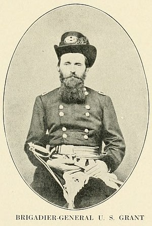 English: Union Brigadier General Ulysses S. Gr...