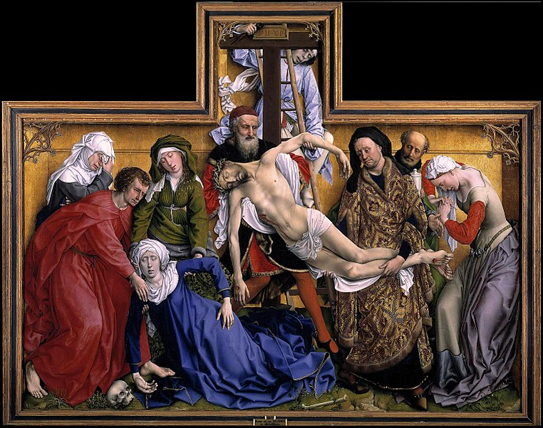 Deposition of Christ, Rogier van der Weyden