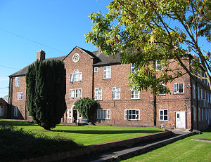 Former workhouse at Nantwich, Cheshire, constr...