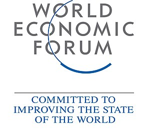 English: Official logo of the World Economic Forum